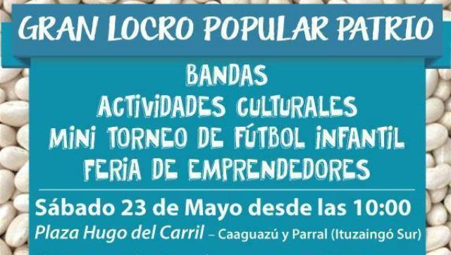 Locro Popular Patrio en Ituzaingó Sur