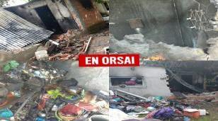 Una casa de Ituzaingó ardió en vísperas de la navidad