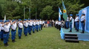 Descalzo recibió a los nuevos 38 oficiales de la policía local