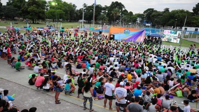 Fiesta de cierre de la colonia Municipal de Verano
