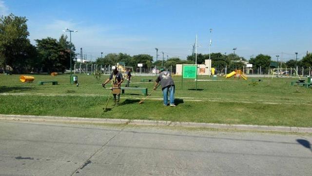 La Secretaria de Servicios Públicos y Mantenimiento Urbano realizó tareas de limpieza