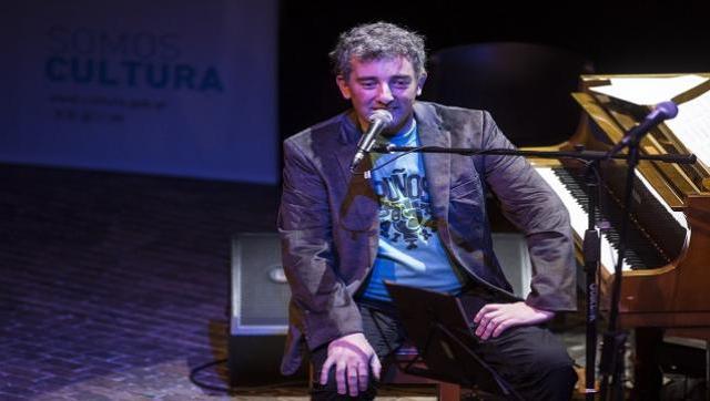 Ignacio Montoya en la peña por la Semana de la Memoria
