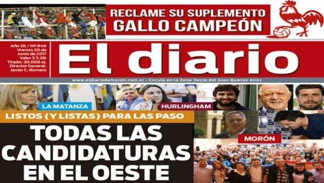 El diario N° 846