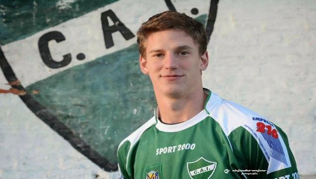 Andrés Vombergar fue vendido a un club de Eslovenia