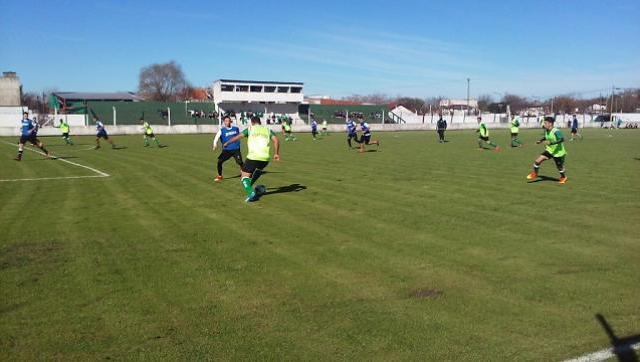 El Verde jugó su primer amistoso