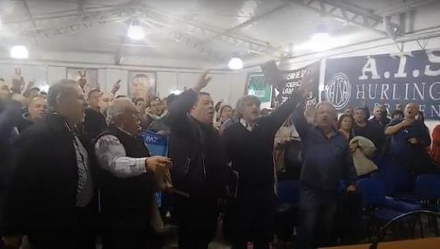 Walter Correa participó de un acto en la sede de ATSA