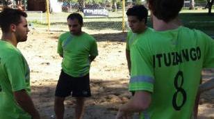 Ituzaingó participara del primer torneo de fútbol playa