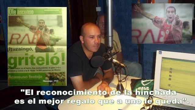 Máximos ídolos del Club Atlético Ituzaingó , hoy Aldo René Bazan