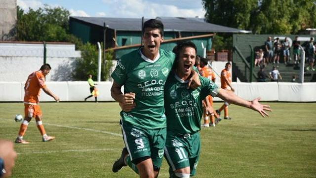 El verde goleo al alicaído Berazategui y se ubicó cuarto en la tabla de posiciones