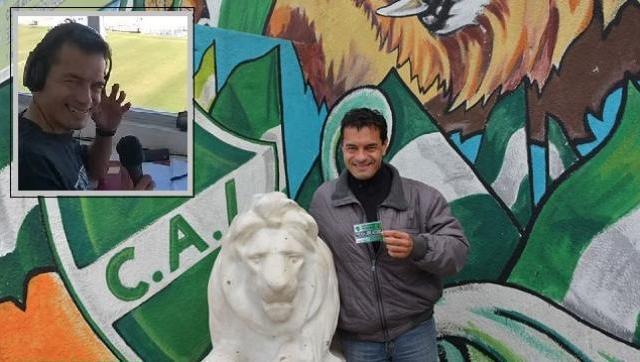Uno de los mejores relatores de fútbol y es fana del verde