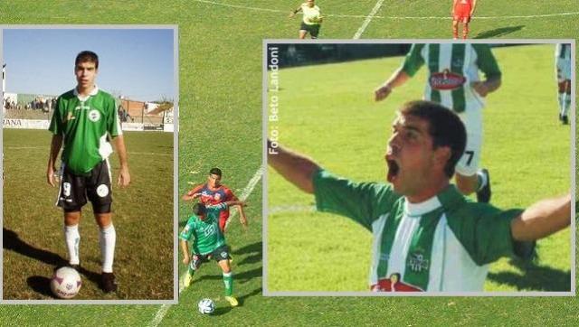 Adrián Gerry, un goleador de raza