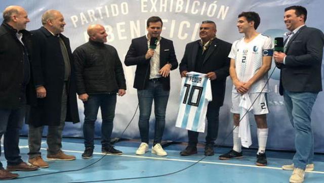 """Daniel Martínez: """"Siempre es bueno el compromiso de la gente para ayudar"""""""