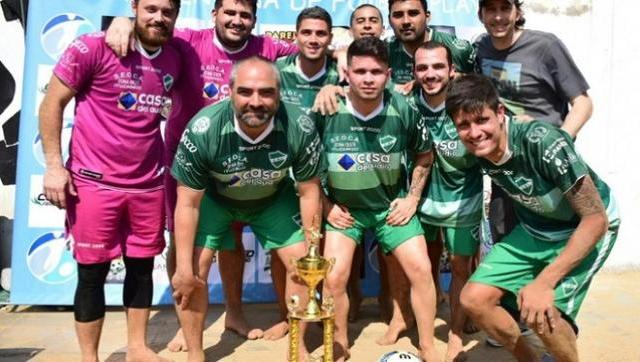 Ituzaingó volvió a consagrarse campeón de fútbol playa