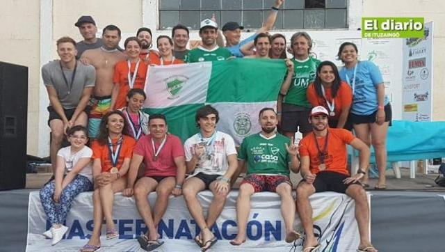Ituzaingó Logró cinco (5) podios en aguas abiertas