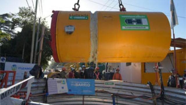 Una nueva tunelera avanzará con las obras de la red cloacal
