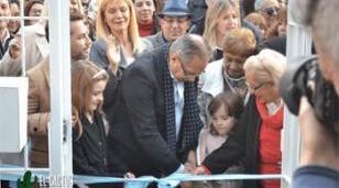 Descalzo y Magario inauguraron un Centro de Atención de Adultos Mayores