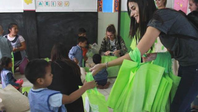 La UM entregó prendas y accesorios a centro de primera infancia