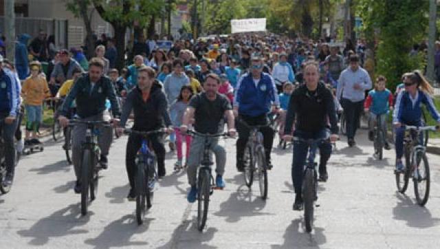 Se hizo la decimaprimera bicicleteada del Sur