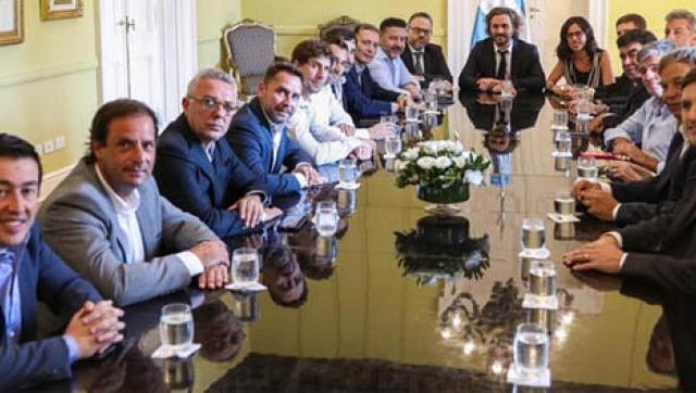 Argentina contra el Hambre: reunión en la Casa Rosada
