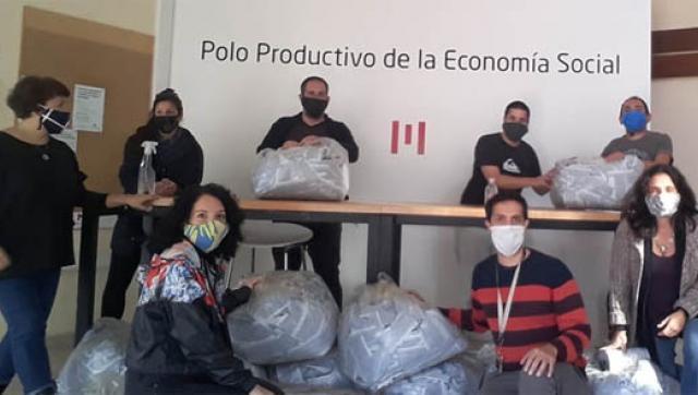 Morón promueve el trabajo autogestivo textil durante la emergencia sanitaria