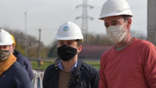 Avanzan las obras de agua potable y cloacas en Ituzaingó