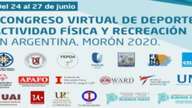 I° Congreso Virtual de Deporte, Actividad Física y Recreación en Argentina - Morón 2020