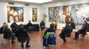 Funcionarios de la Municipalidad se reunieron con autoridades locales de seguridad