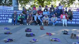 """Intervención artística por el Día de la """"No violencia contra las mujeres"""""""