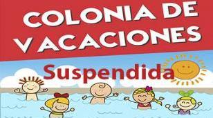 El Municipio suspendió la temporada de colonias de verano 2021