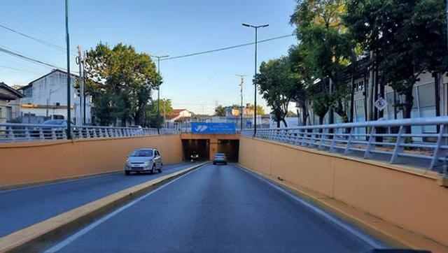 Cambios en el tránsito por trabajos en el túnel Monte Longdon