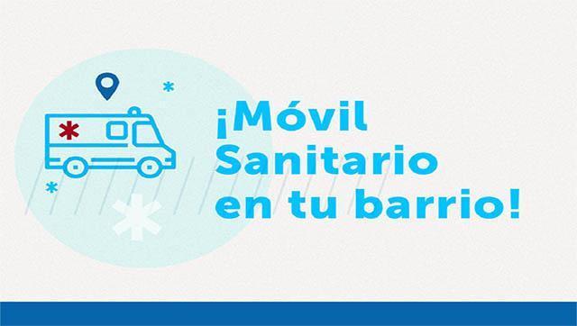 Móvil sanitario recorrerá los barrios de Ituzaingó