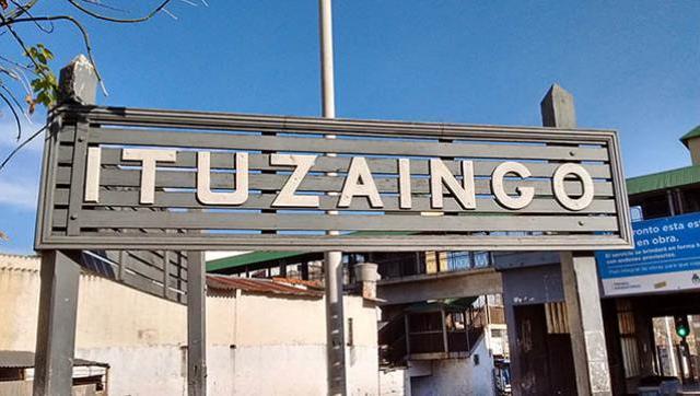 Remodelación y obras en la estación de trenes de Ituzaingó