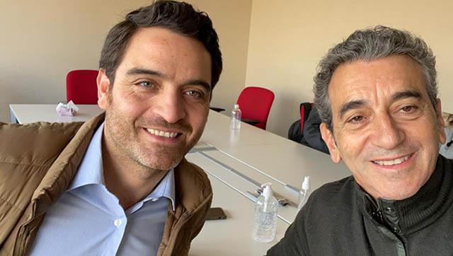 Ezequiel Carrizo se reunío con Florencio Randazzo