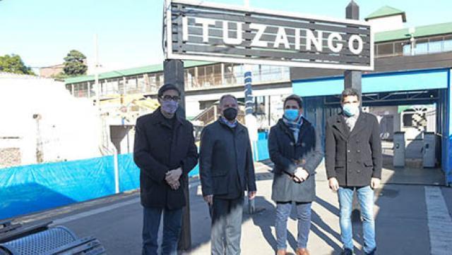 AvanzaN las obras de remodelación de la estación Ituzaingó
