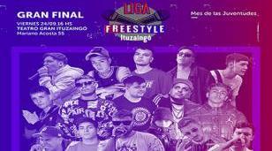 """Finalistas de la liga de """"Freestyle Ituzaingó"""""""